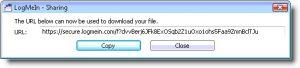 LogMeIn Pro - file sharing