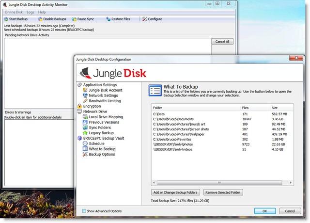 junglediskconfiguration