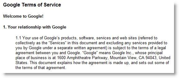 googletermsofservice