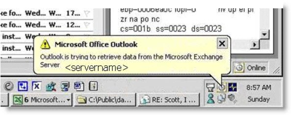 outlookretrievingdata