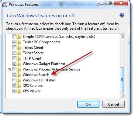 outlooksearch-windowsfeatures1