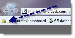 Internet Explorer 9 Add To Favorites Bar