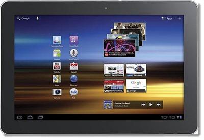 Samsung Galaxy Tab 10.1 - home screen