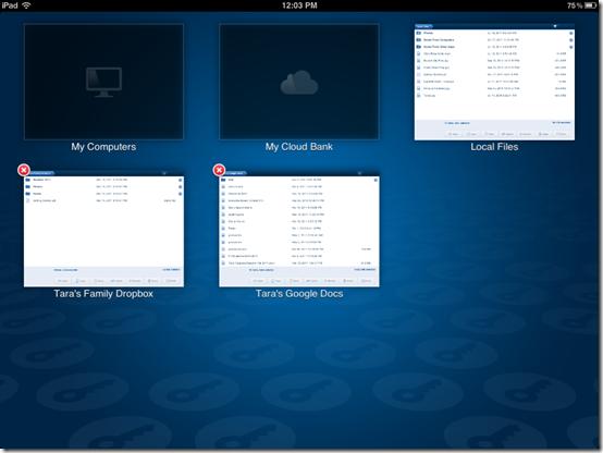 LogMeIn iPad Cloud Bank