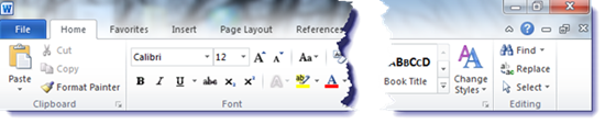 Office Ribbon - how to find it when it disappears