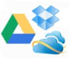 Dropbox, Microsoft Skydrive, Google Drive - send in the clones