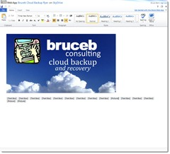Microsoft Office Web Apps - edit document sample