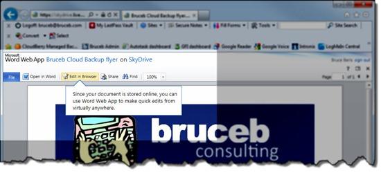Microsoft Office Web Apps - Word Web App