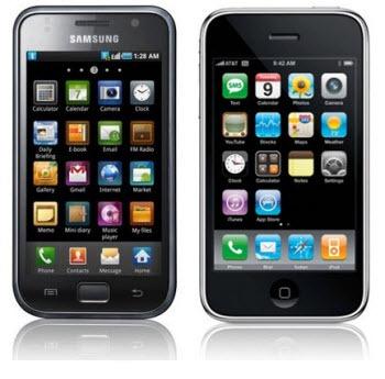 Samsung Galaxy v. Apple iPhone