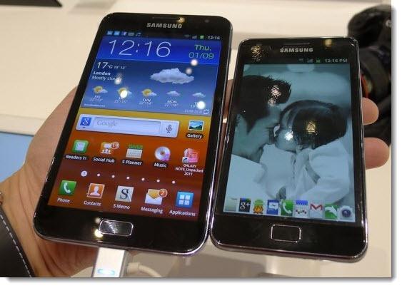 Samsung Galaxy Note & S III