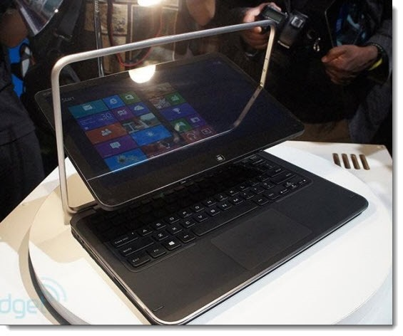 Windows 8 hybrid tablet/notebook - Dell XPS Duo 12