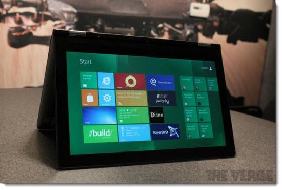 Lenovo Ideapad Yoga convertible laptop/tablet