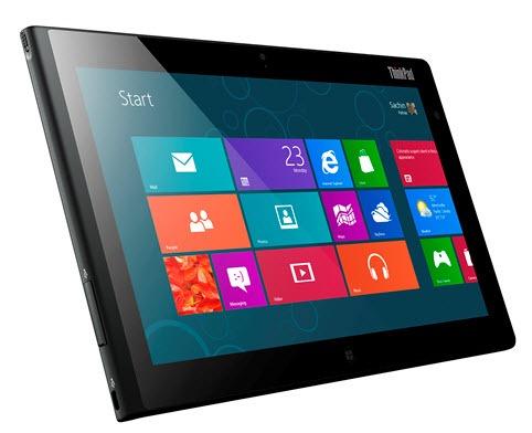Lenovo Windows 8 tablet