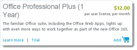 Office 365 - Office Professional Plus subscription