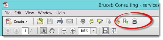 Acrobat X - using the typewriter tool - button on toolbar