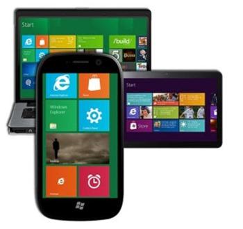 Windows 8 - phone, tablet, computer OS