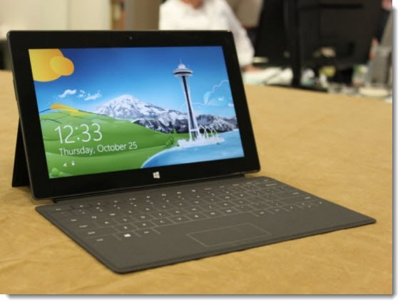 Microsoft Surface and productivity