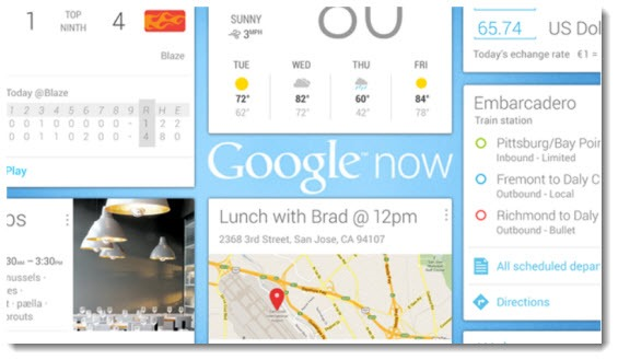 Google Now and the Android ecosystem