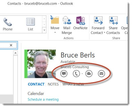 Skype - Outlook integration