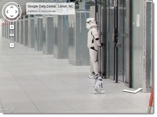 Google Street View - Google data center