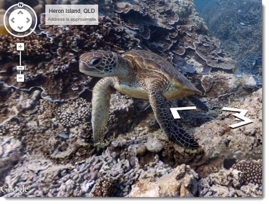 Google Street View - Great Barrier Reef