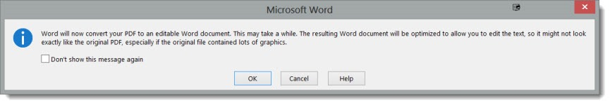 View And Edit PDF Files In Word 2013   Bruceb Consulting