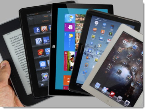 Tablet shopping - choose the ecosystem, not the device
