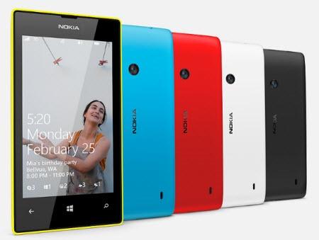 Nokia Lumia 520 - cool colors