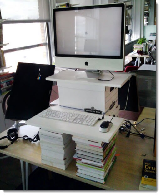 Getting started with a standing desk