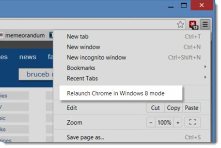 googlechromewindows8mode