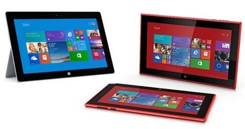 Microsoft Surface 2 & Nokia Lumia 2520