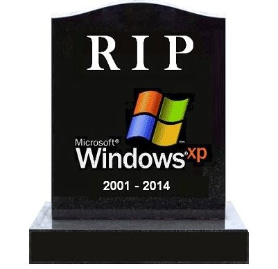 Windows XP computers must be taken out of service