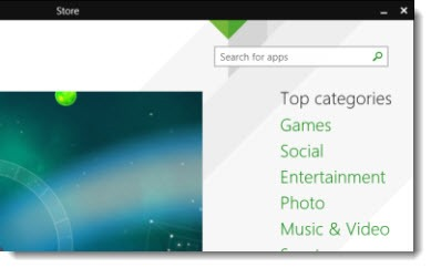 Windows 8.1 Update - title bar & taskbar in Metro apps
