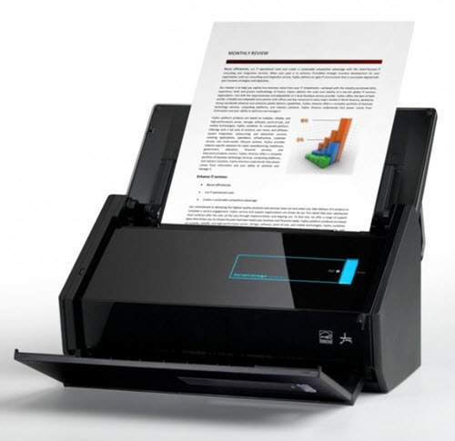 Fujitsu ScanSnap iX500 Is Still The Best Small Business Scanner – Now With Extra Cloud