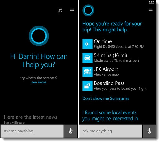 Windows Phone 8.1 - Cortana, your personal assistant