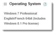 Dell Optiplex - Windows 8 license included