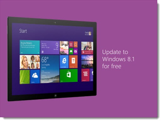 Windows 8.1 - update in Windows Store