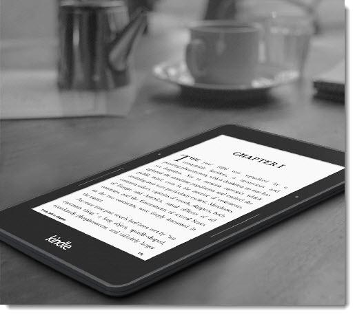 Amazon Kindle Voyage luxury e-reader