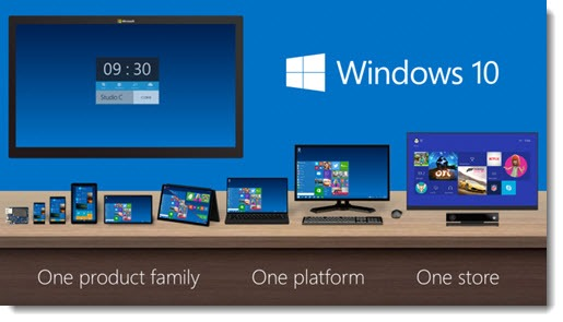 Windows 10 - Microsoft announces next version of Windows