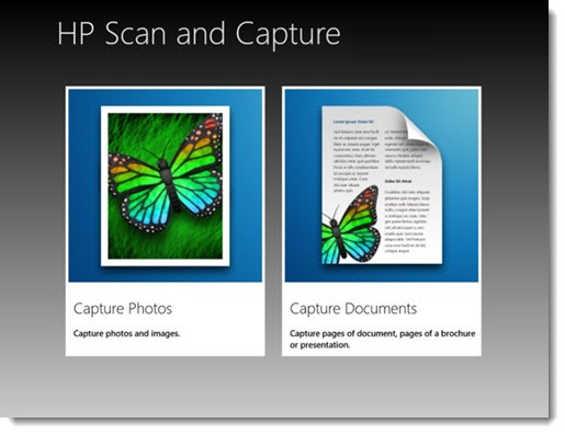 HP Scan and Capture - free Windows 8 app for creating PDFs from your scanner