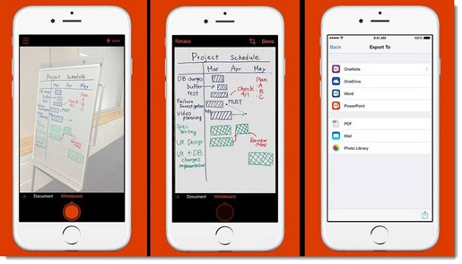 Turn your phone into a scanner with Office Lens for iPhone and Android phones