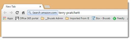 Google Chrome Omnibox - search specific sites