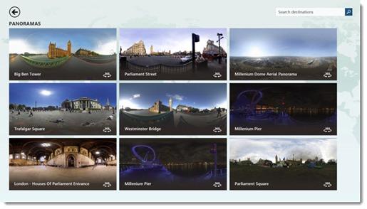 MSN Travel - panoramas