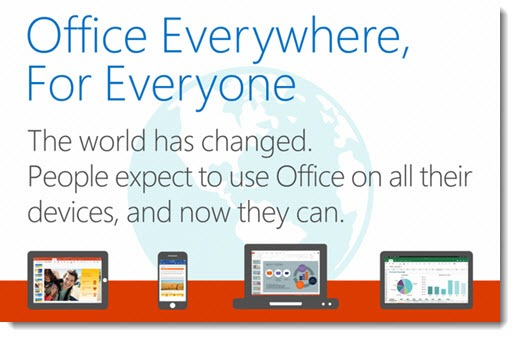 Microsoft Office everywhere - now with Dropbox and Box integration