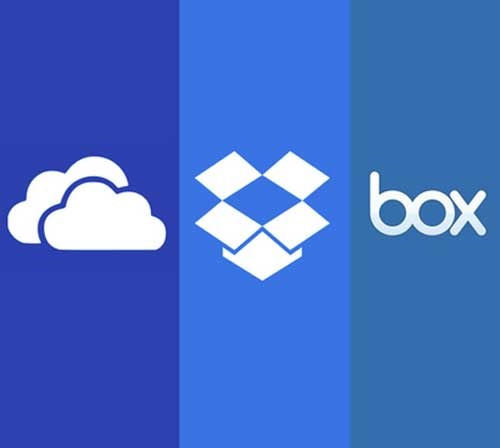 Onedrive, Dropbox, Box - Office accessible everywhere