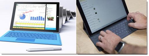 Surface Pro 3 vs. iPad Pro