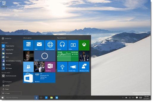 Windows 10 Start menu is a cluttered mess