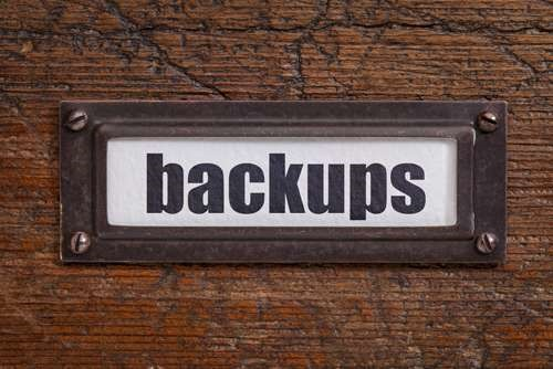 Backup data before upgrading to Windows 10