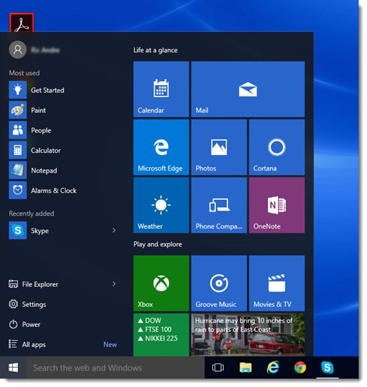 Customize or replace the Start menu