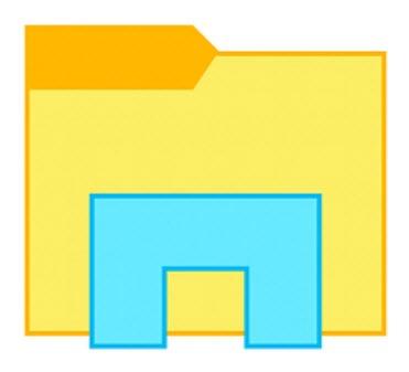 Windows 10 File Explorer icon